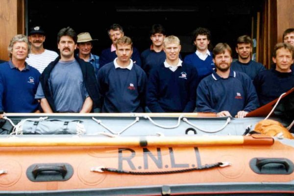 Port Isaac Crew and Station Officials in the 1990s