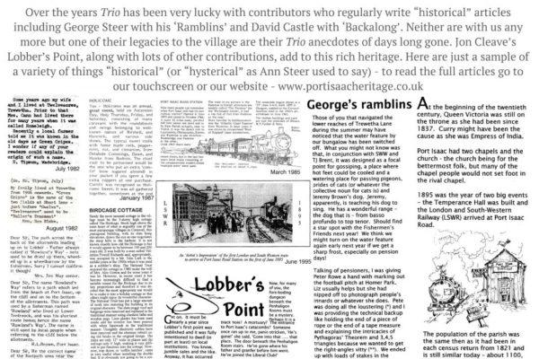 Port Isaac History