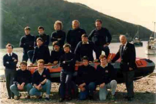 Port Isaac Lifeboat Crew - 1987