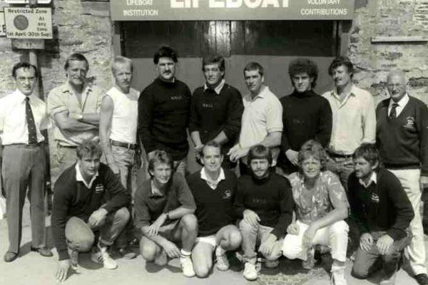 Port Isaac Lifeboat Crew - 1988