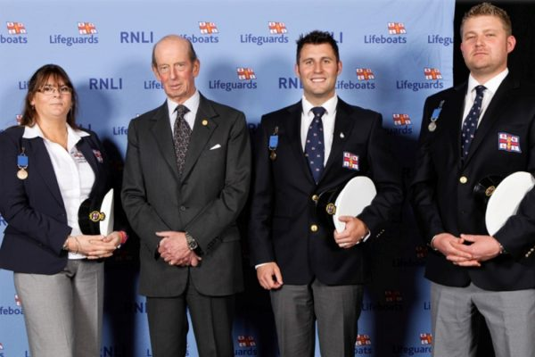 RNLI crewmembers receive Gallantry medals