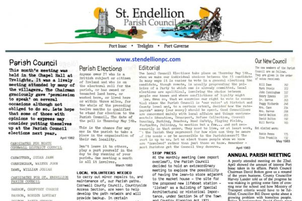 St. Endellion Parish Council