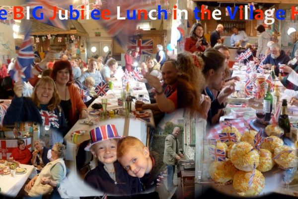 The BIG Jubilee Lunch at the Village hall