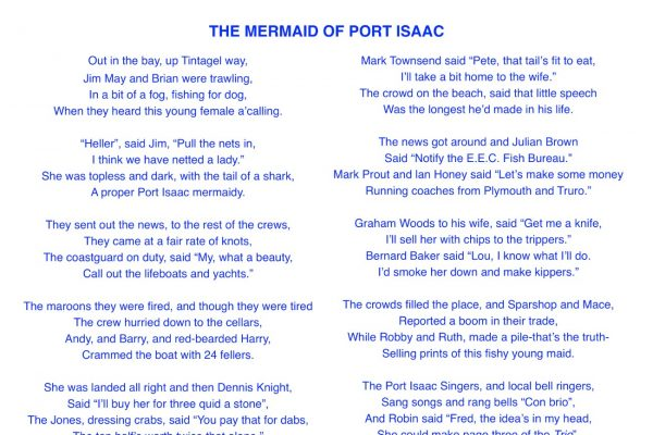 The Mermaid of Port Isaac
