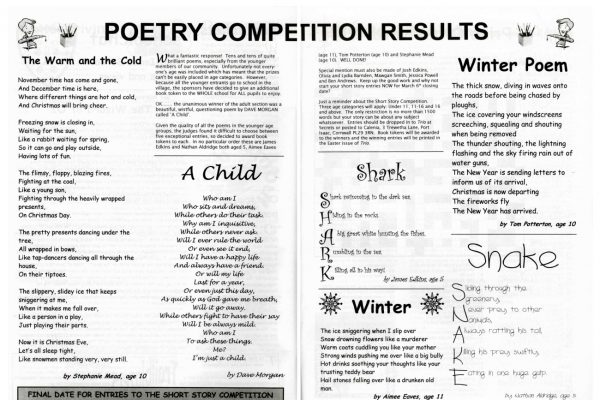 The Trio Poetry Competition