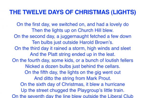 The Twelve Days of Christmas (Lights)