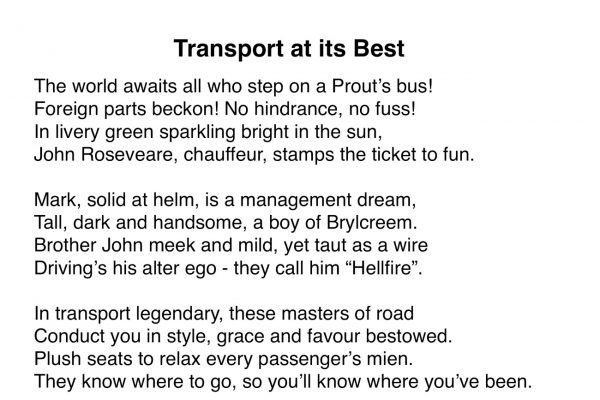 Transport at its Best