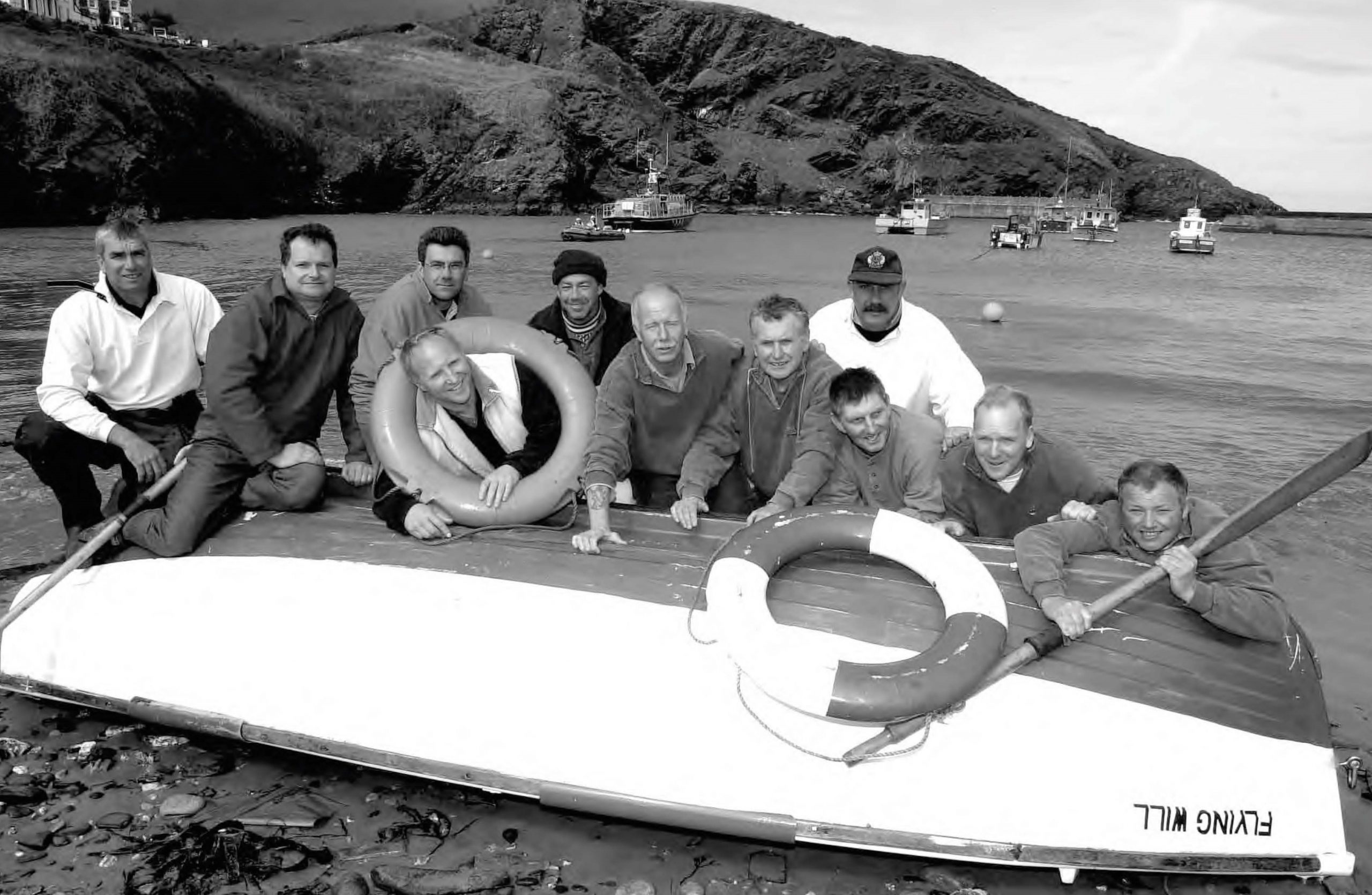 2002 CD recorded for the RNLI