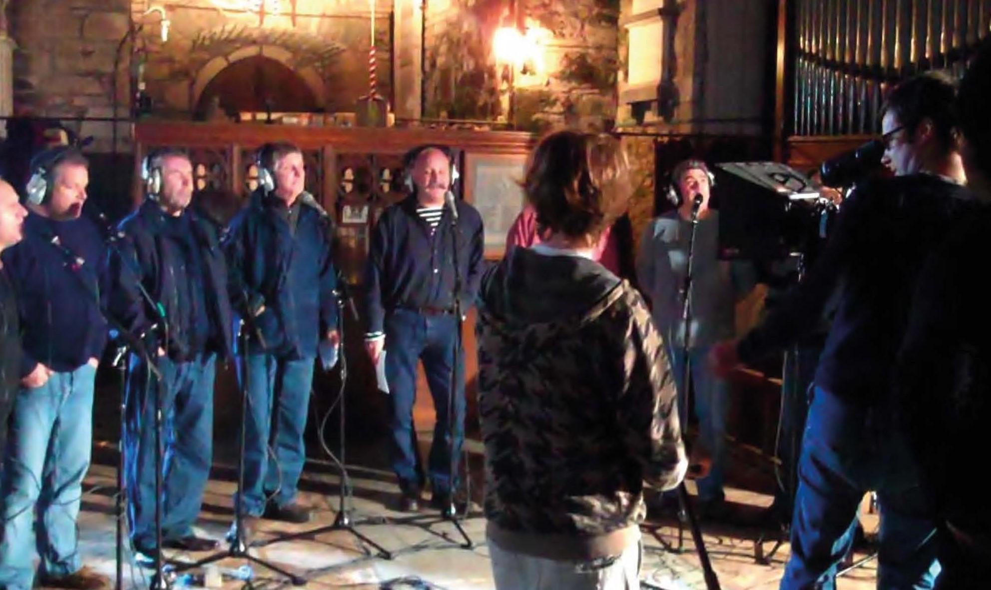 2010 Recording CD at St Kew Church
