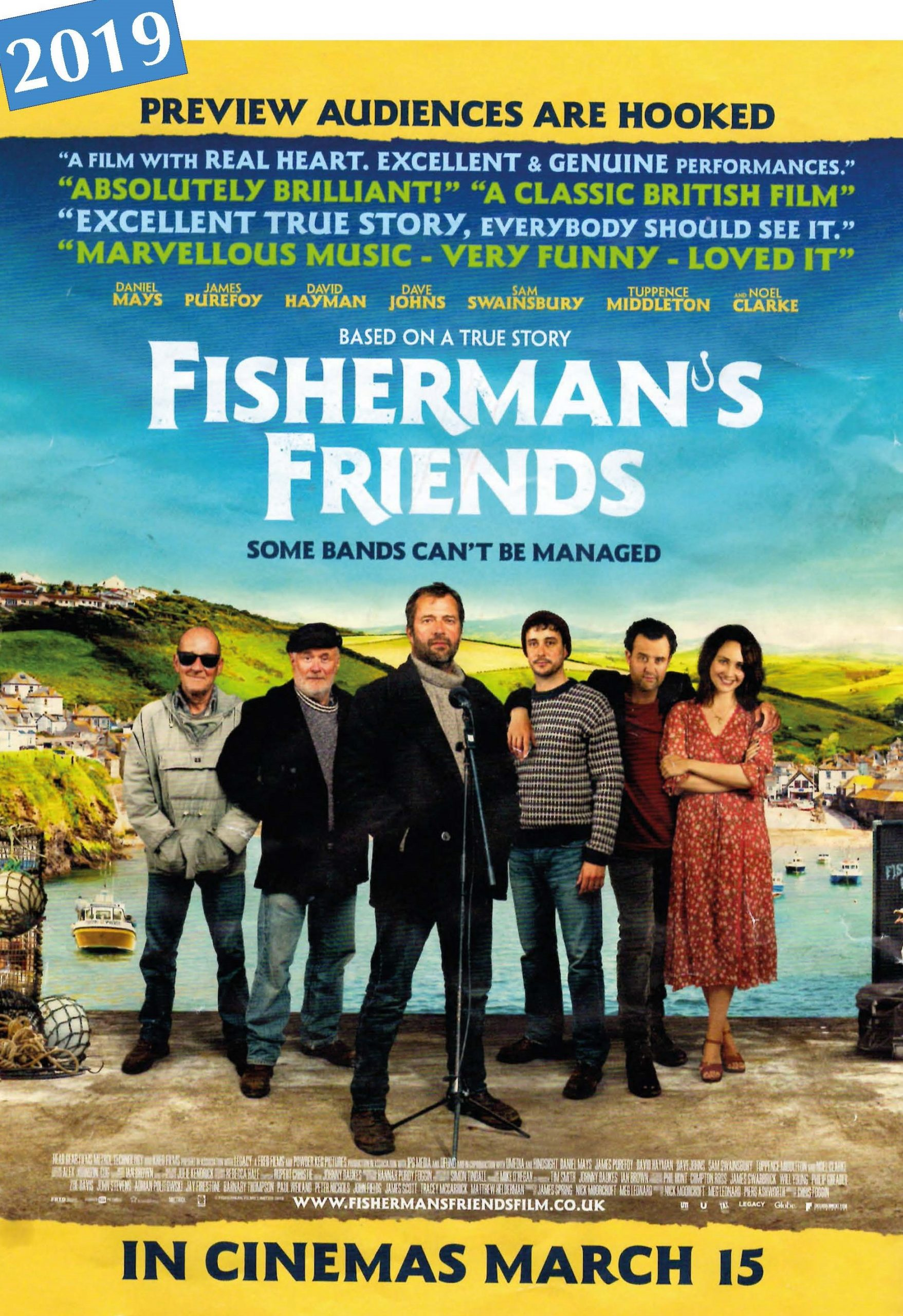 2019 Fisherman's Friends, The Movie