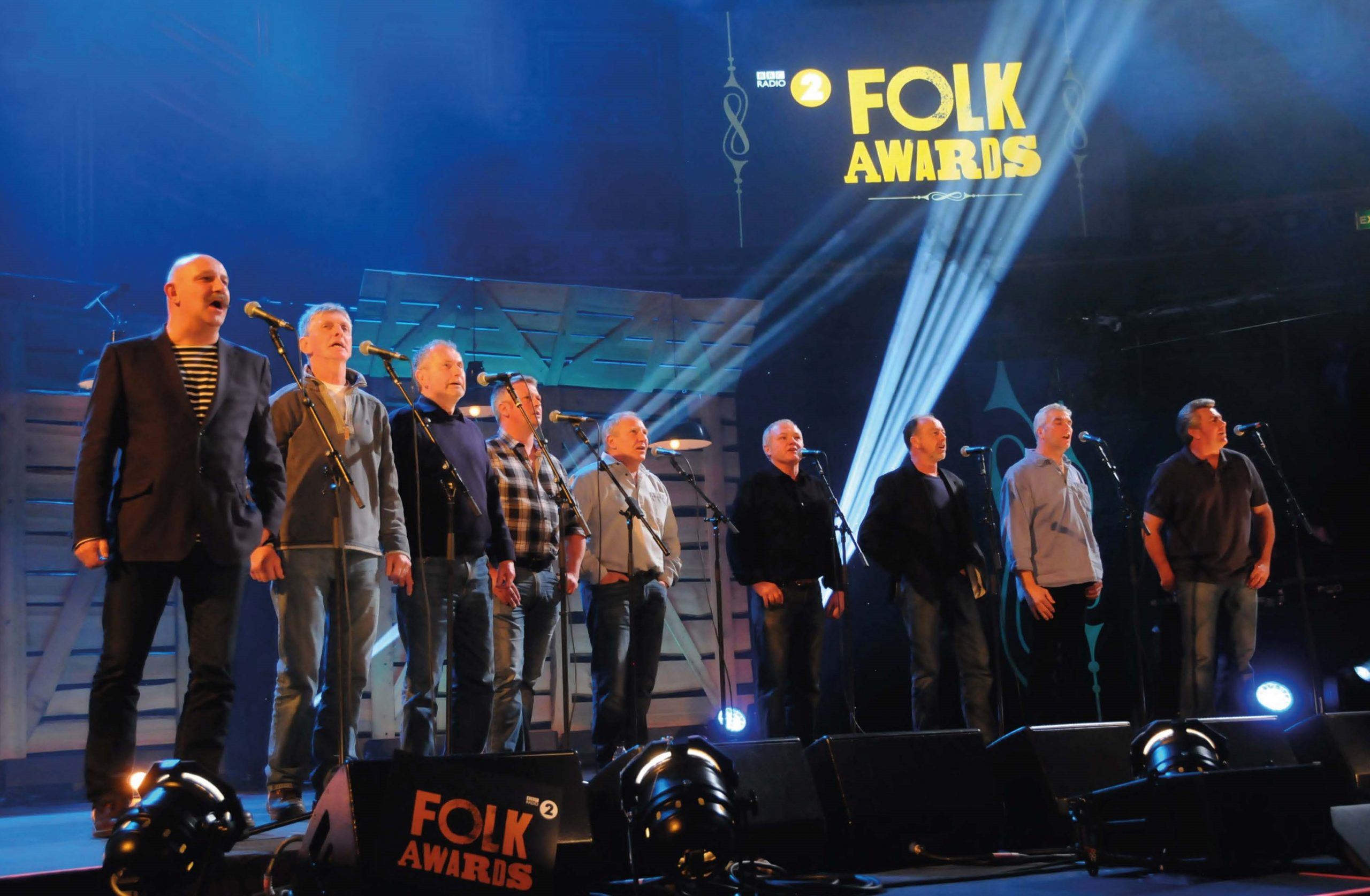 A standing ovation from the great and the good at the BBC Radio 2 Folk Awards