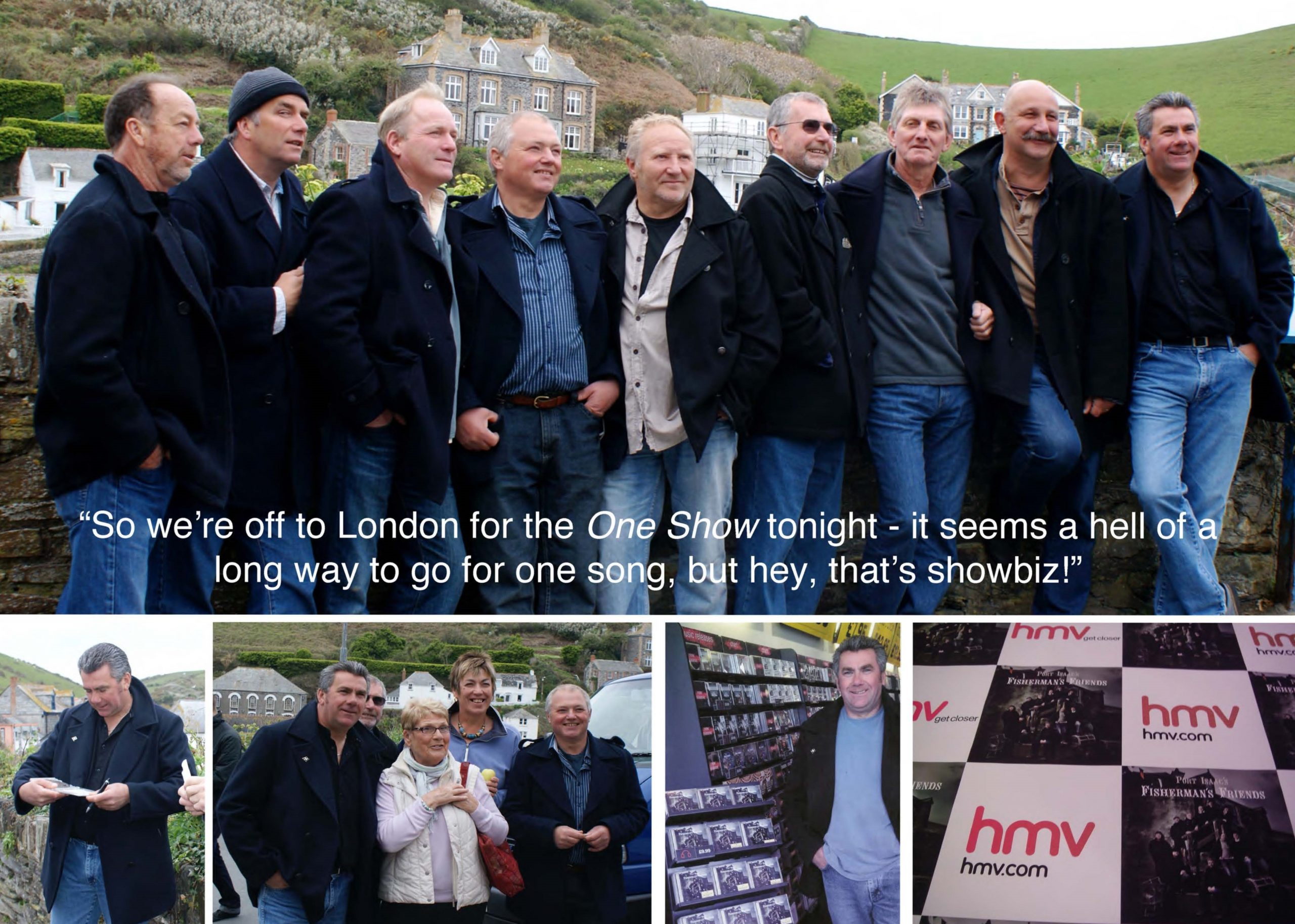 Appearing on BBC's The One Show, and winning the BBC Radio 2 Folk Awards